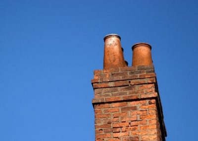 Bonfire repair and install all types of flues chimneys and twin wall