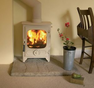 Charnwood Country 4 Stove + Clip-In Steel Boiler