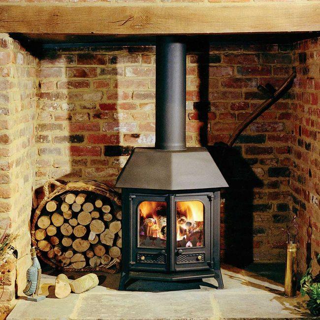 Charnwood Country 12 Woodburning Stove black