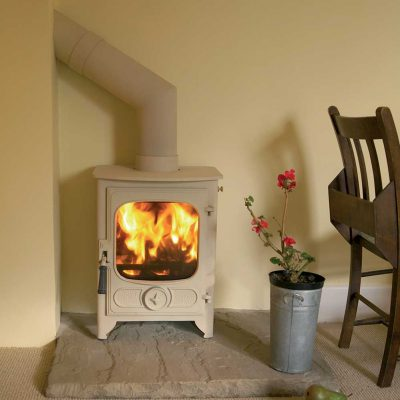 Charnwood Country 4 Woodburning Stove Almond