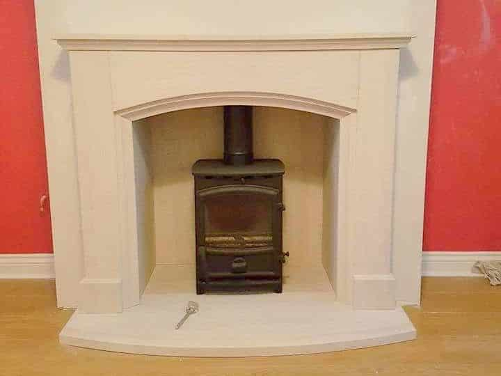 Fireline FX5 and Camelia limestone fireplace 1 e1551265080356