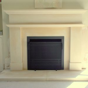 Jetmaster 600 Universal fire and Oscingworth Bathstone Fireplace