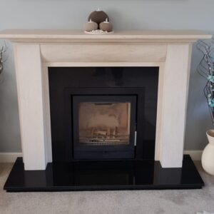 Fireline FPi5 Wide installed into stokesay limestone surround
