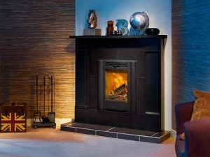 Contura Classic i4 Cassette in black mantle piece