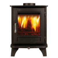 Chesneys Salisbury 4 Series woodburner in black