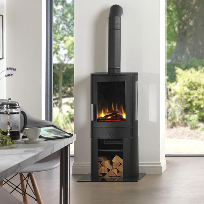 ACR Neo 3c electric stove in living room