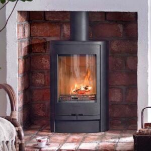 Contura 810l wood burning stove in black