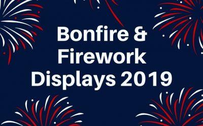 Mortimer Bonfire & Fireworks Display
