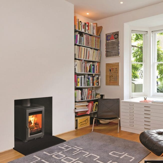 Parkray Aspect 6 wood btove fire by design showroom Wimborne 1
