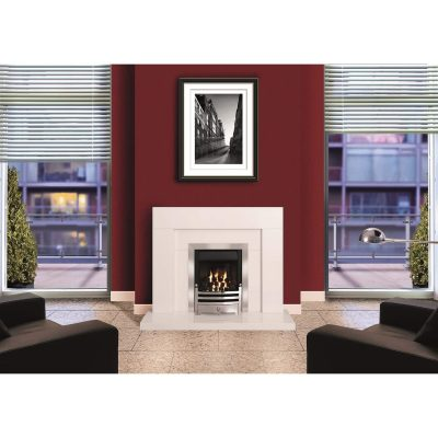 heddon alpine white micromarble surround