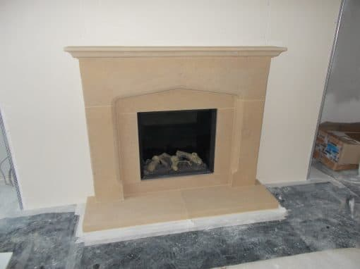 Bath Stone Surround and Riva 2 400