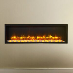 gazco radiance 105r inset electric fire in living room