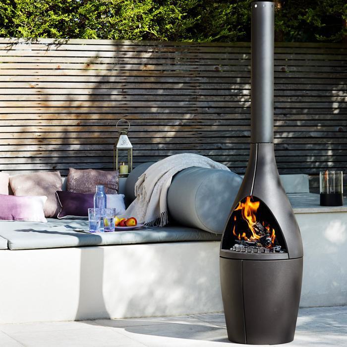 Morso Kamino outdoor fireplace